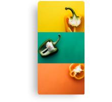 Pepper Combo Canvas Print