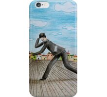 Walk with dog iPhone Case/Skin