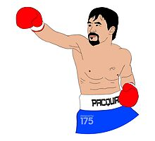 Manny Pacquiao - Digital Drawing by liam175