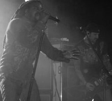 Sevendust in Black & White by Richard Durrant