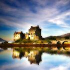 Reflections of Eilean Donan by JayteaUK