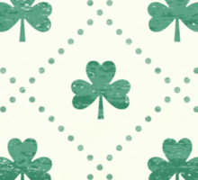 Shamrock On! Sticker