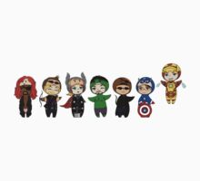 The Avengers in Halloween costumes Kids Clothes
