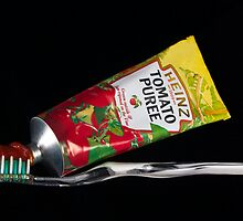 Tomato puree toothpaste by GordonScott