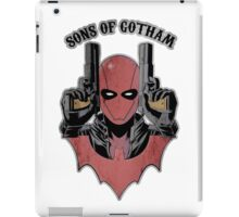 Sons of Gotham - Red iPad Case/Skin