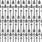 Hand Drawn Arrows Print by Iveta Angelova