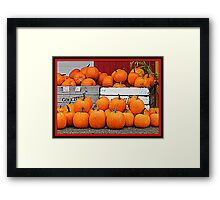 Pick of the patch Framed Print