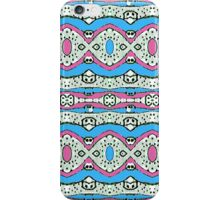 Aztec Style Pattern in Pastel Colors iPhone Case/Skin