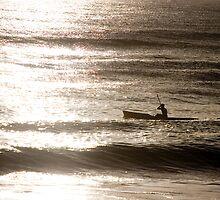 Morning at the beach by Joshua Rablin