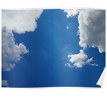 Blue, Blue Sky Poster