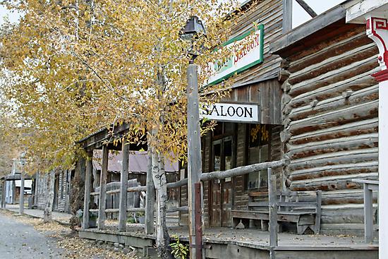 """""""Old Saloon"""" by Lynn Bawden"""