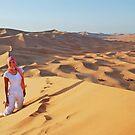 In the desert by Peter Hammer