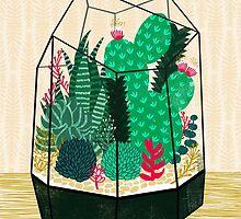 Terrarium - Geodesic Plant for Succulents and Cactus by Andrea Lauren by Andrea Lauren