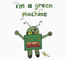 I'm a green machine by cectimm