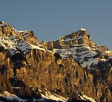 Winter Mountain by Duncan Payne