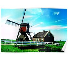 DUTCH WINDMILLS 04 Poster
