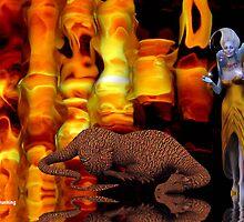 sleeping dragon by Cheryl Dunning