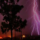Lightning over Townsville by Roboftheland