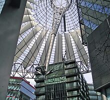 Berlin - Postdammer Platz, Sony Center by presbi