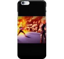 VEGETA VS ANDROID 18 iPhone Case/Skin