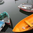 Rockport Rowboats-2 by Judi FitzPatrick