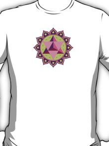 Merkaba with Flower of Life T-Shirt
