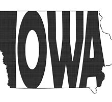 Iowa State Word Art by surgedesigns