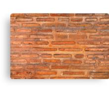 ansient bricking wall  Canvas Print