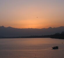 Antalya Harbour at dawn by mypics4u
