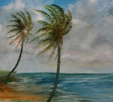 Palms in the Winds by Harry Gray