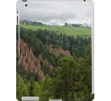 Earth Pyramids at Longomoso iPad Case/Skin