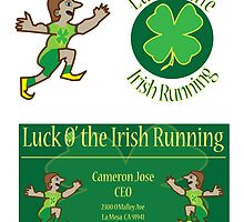 Luck o' the Irish Running by Cameron Jose