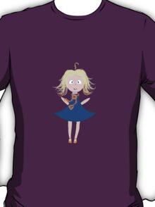 Blonde Cartoon Girl T-Shirt