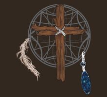 Dreamcatcher Cross by CSDesigns