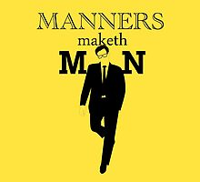 Manners Maketh Man by alpacat