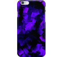 Pink and Blue Abstract Crystals iPhone Case/Skin