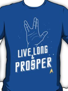 Live Long and Prosper - Leonard Nimoy - Star Trek - in Colours T-Shirt