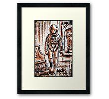2001 A Space Odyssey Art Stanley Kubrick film movie director sci fi science fiction drawing illustration joe badon stars Christmas Framed Print