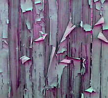 Pink and Green Peeling Paint by MarkAntum