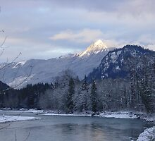 Sauk River by Edith Farrell