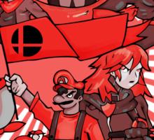 smash bros. RED Sticker