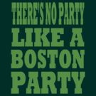 BOSTON PARTY by OTIS PORRITT