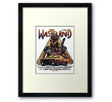 Wasteland / Interceptor Framed Print