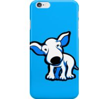 EBT Puppy Blue and White iPhone Case/Skin