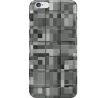 overlapping monochrome squares iPhone Case/Skin