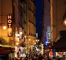 Rue de la Huchette, Paris by stjc