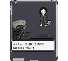 Wild SURVIVOR appeared! iPad Case/Skin