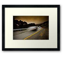 Alpine Traffic Framed Print