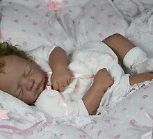 ember reborn doll by Cassie Peek