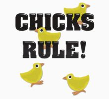 Chicks Rule! by BluAlien